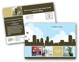 photo postcard postcard printing print and mail real estate postcards at