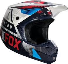 motocross gear sydney clearance sale fox 2016 v2 vicious helmet blue white online