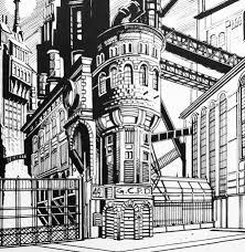 Map Of Gotham City Gotham City Police Hq 2 Gotham Archives