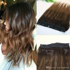 one hair extensions one clip in human hair extensions 5clips