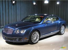bentley 1995 2010 blue crystal bentley continental gt speed 22696719
