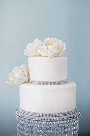 rhinestone cake beverly wedding by jen grant photography bling