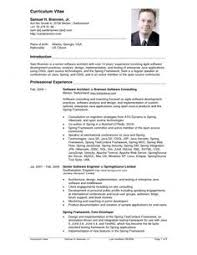top 10 resume formats 10 collection best resumes exles cvs 10
