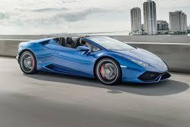 Lamborghini Huracan Automatic - miami braced for the storm lamborghini huracan spyder first drive