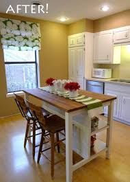 Kitchen Island Makeover Ideas Best 25 Mobile Kitchen Island Ideas On Pinterest Kitchen Island