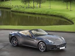 Ferrari California Green - stock tom hartley jnr
