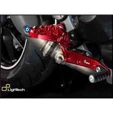 pedane lightech pedane ducati hypermotard 821 13 15 lightech ftrdu008rosw moto