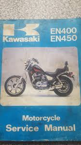 genuine kawasaki en400 450 workshop manual u2022 1 50 picclick uk