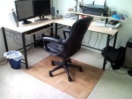 full size of square beige bamboo office chair mat for carpet protector black leather staples chair