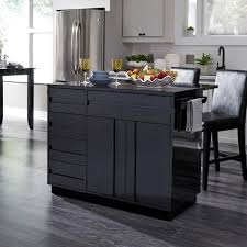 black kitchen cabinets home depot homestyles linear black kitchen island with 2 bar stools and