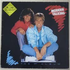 Talking Photo Album The 1st Album By Modern Talking Lp With Kikif21 Ref 118305421