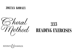 choral method 333 reading exercises chord method kemo land uk