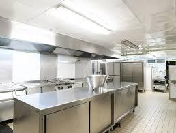 normes cuisine professionnelle revetement et agencement mural et plafond pour cuisine
