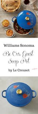 le creuset beauty and the beast sonoma limited edition soup pot le creuset beauty beast
