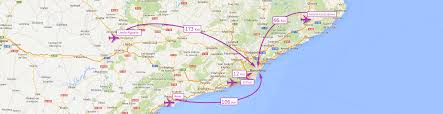 Ryanair Route Map by By Air Meet Barcelona