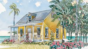 Bungalow Plans 6 Beach House Plans That Are Less Than 1 200 Square Feet Coastal