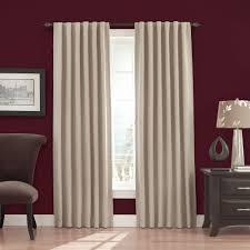 Eclipse Blackout Curtain Liner Eclipse Fresno Blackout Window Curtain Panel Walmart Com
