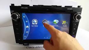2011 honda cr v special double din honda crv dvd radio navigation gps touch screen youtube
