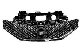 nissan genuine accessories prices nissan genuine note e12 front bumper radiator grille panel black