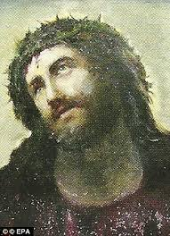 spanish village sees tourism boom thanks to beast jesus painting