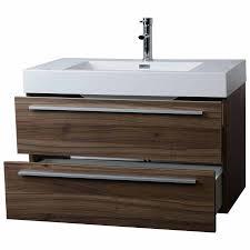 Contemporary Bathroom Vanity Wall Mount Contemporary Bathroom Vanity Walnut Free Shipping Tn