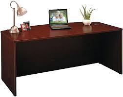Mahogany Office Desk Office Desk Mahogany Office Desk Bush Bow Front Accommodates Two