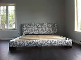 How To Build A King Size Platform Bed Ana White King Size Platform by Diy Upholstered Platform Bed Inside Upholster Frame Inspirations