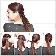 tutorial menata rambut panjang simple 15 tutorial gaya rambut panjang modern