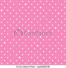 imagenes en blanco y rosa rosa puntos estrella polca plano de fondo blanco rosa
