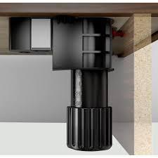 screwfix kitchen cabinets set of 4 folding fix cabinet leg 90 165mm inc 2 x pressure clip