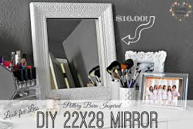 Pottery Barn Mirror Knock Off by Rose U0026 Co Blog Look For Less 4 Pottery Barn Inspired Mirror For