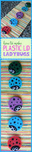 plastic lid ladybugs a cute kid u0027s craft made from recycled milk lids