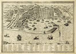 Paper Town Map Antique Map Of Messina The Town Of Sicily Separated From Italy