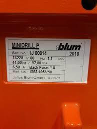 blum minidrill p woodweb u0027s machinery exchange