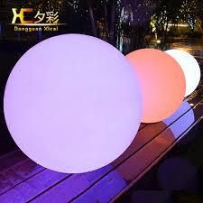Lighted Outdoor Christmas Balls Festival Decorative Indoor Outdoor Styrofoam Ball Cordless Lighted