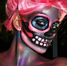 diy tuesday stunning day of the dead makeup ideas 5