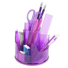 Desk Tidy Set 13pc Office Stationery Organiser Set Rotating Desk Tidy Pen Holder