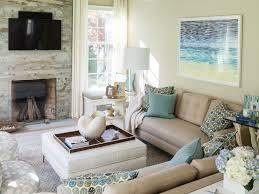 Living Room Storage Bench Cottage Living Room Fireplace Design Ideas