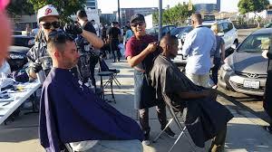 homeless san diego hair cutting stories