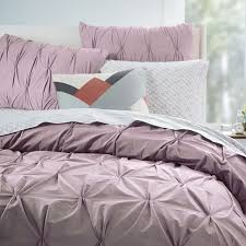 West Elm Duvet Covers Sale Bedroom Organic Cotton Pintuck Euro Shams Light Amethyst West Elm