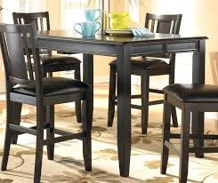 kitchen table black tall kitchen table large size of modern