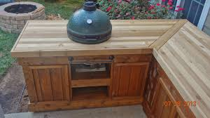 big green egg table plans my new egg table 2nd time
