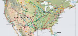 The Map Of United States by United States Pipelines Map Crude Oil Petroleum Pipelines