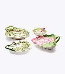 tory burch dinnerware tory burch decorative leaf plates set of 4 women s view all