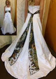 plus size camo wedding dresses white and camouflage wedding
