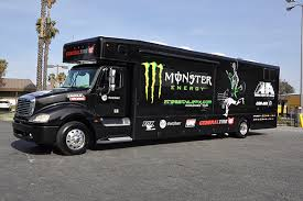 3m gloss motorhome wrap freestyle mx monster energy