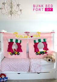 Bed Fort Bunk Bed Fort Diy The Sewing Rabbit
