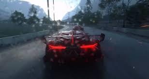 Lamborghini Veneno Interior - driveclub shows epic lamborghini veneno racing in the rain