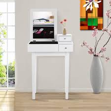 ikayaa contemporary bedroom vanity table make up dressing table