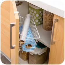 Cabinet Door Basket High Quality Kitchen Cabinet Door Back Hanging Storage Basket